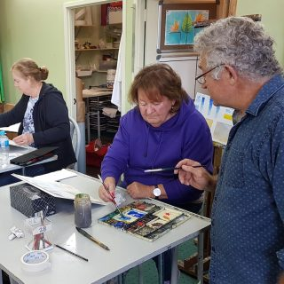 James McKay Introduction To Watercolour at Gold Coast Art School